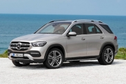 Новый Mercedes-Benz GLE показали в Париже