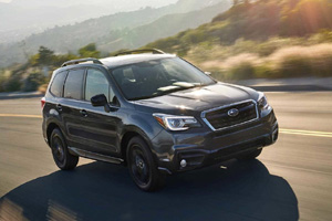 Subaru Forester получил пакет Black Edition