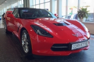 В Москве представили Chevrolet Corvette Stingray