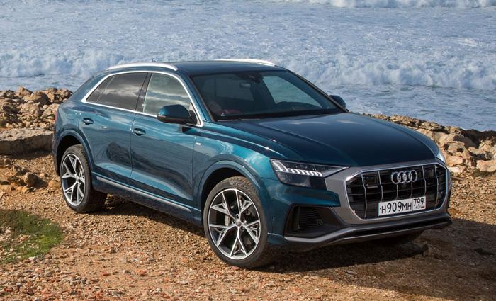 Тест-драйв Audi Q8 2019 года. Экстрасенсорика