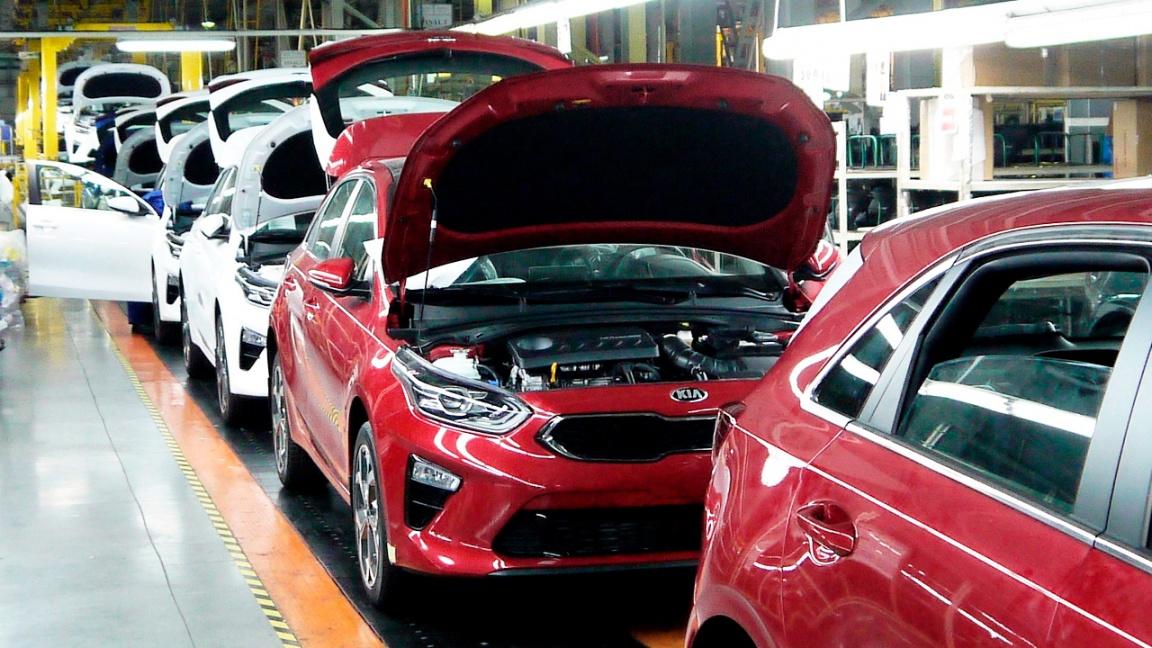 Производство нового Kia Ceed