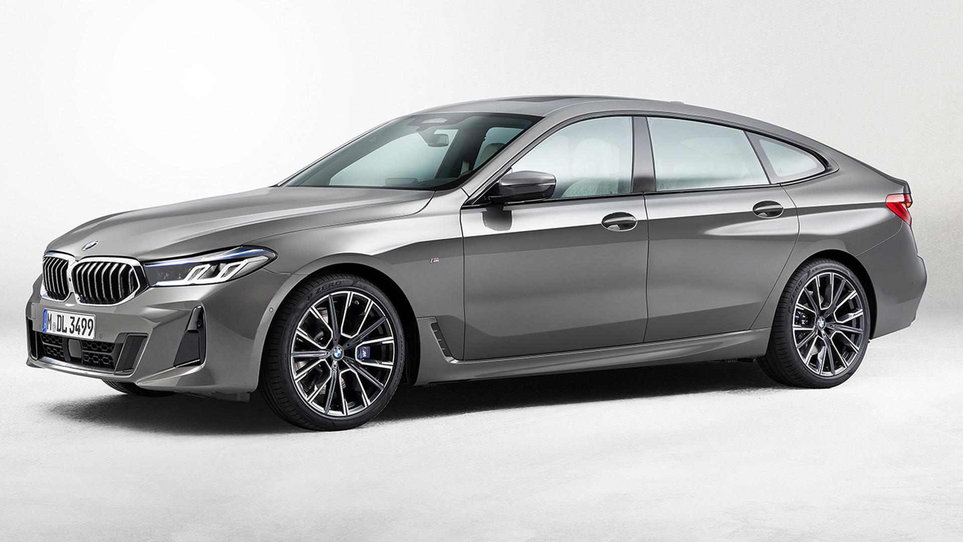 BMW 6 серии Gran Turismo 2021