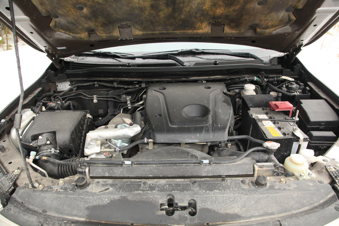 Fiat Fullback Двигатель