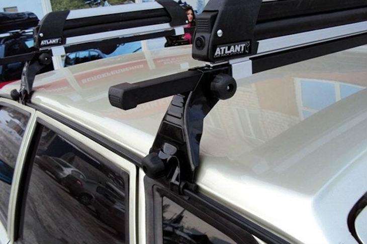 Способы установки багажника на крышу автомобиля
