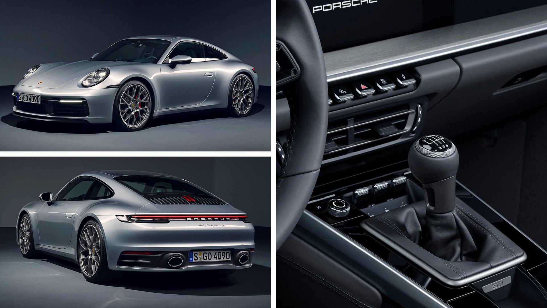 Porsche 911 Carrera S с механикой