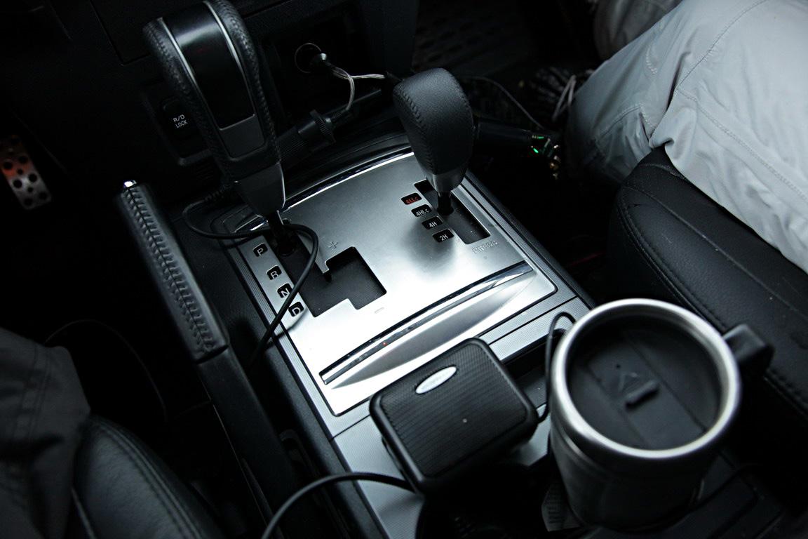 Mitsubishi Pajero IV: Волок.Выходные