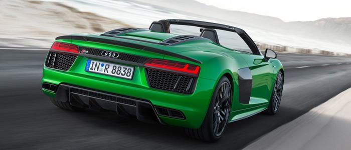 Audi R8 Spyder plus