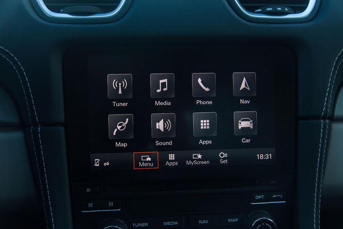 Porsche Cayman S 2017 Мультимедиа