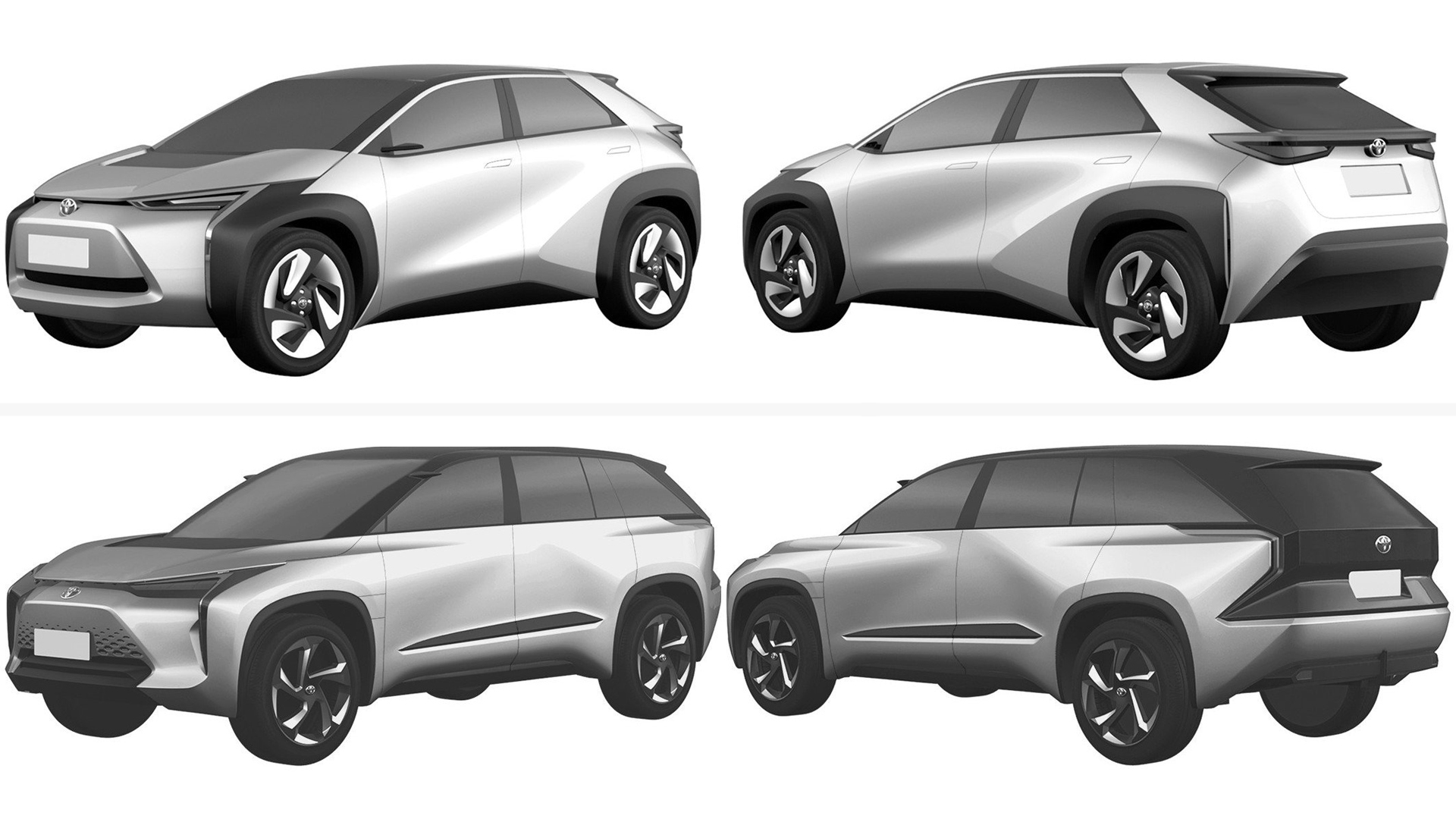 Toyota new electric crossovers