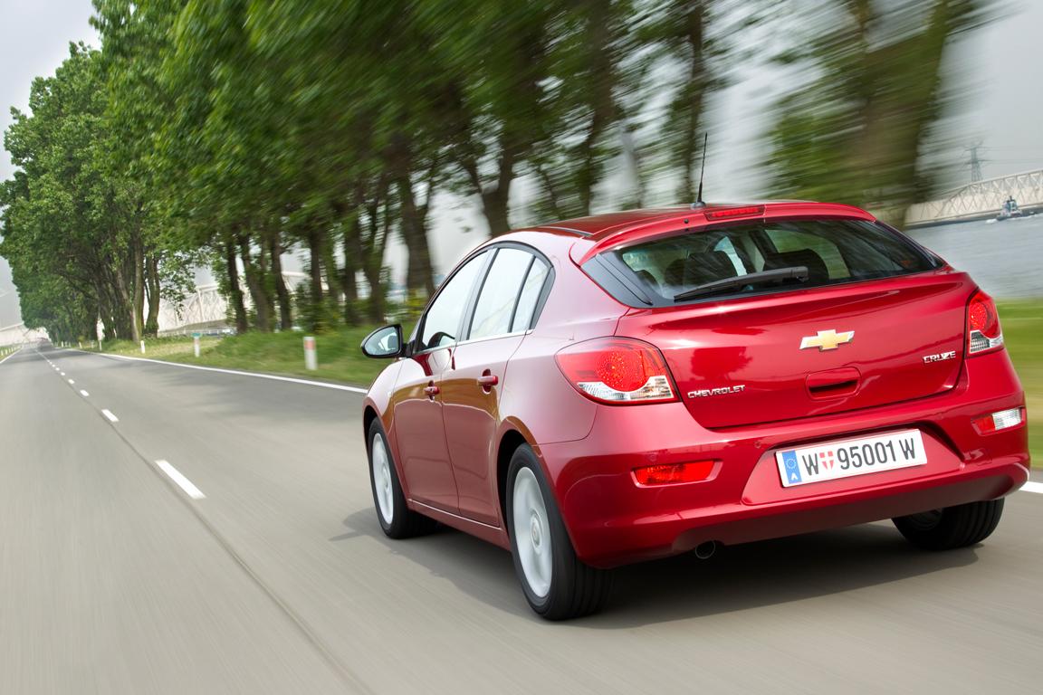 Chevrolet Cruze HB - цена, характеристики и фото, описание ...
