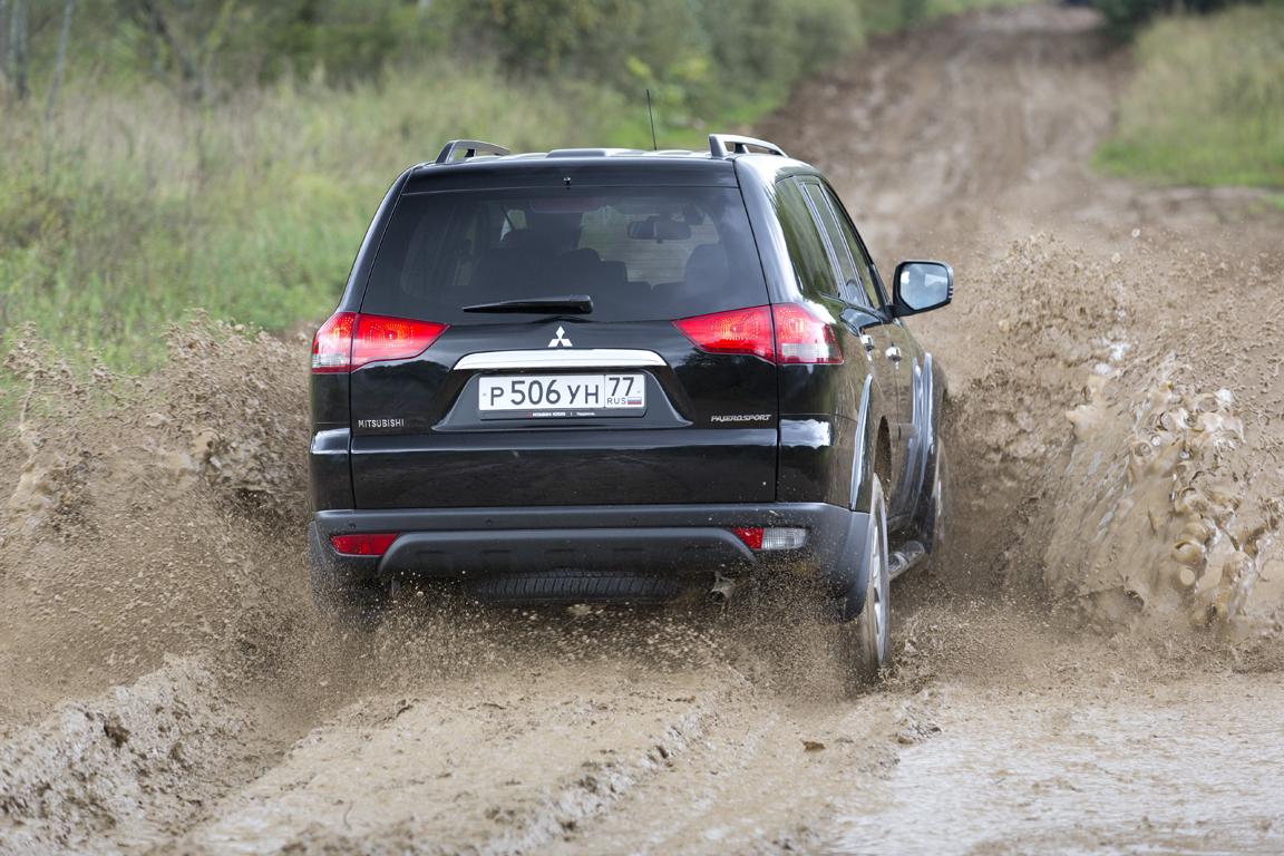 Mitsubishi Pajero Sport: Утилитарное решение