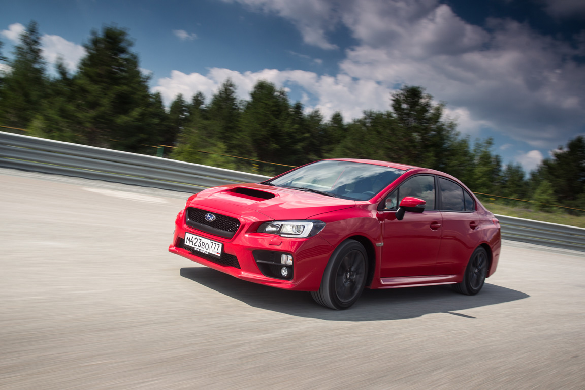 Subaru WRX: Сочетать несовместимое