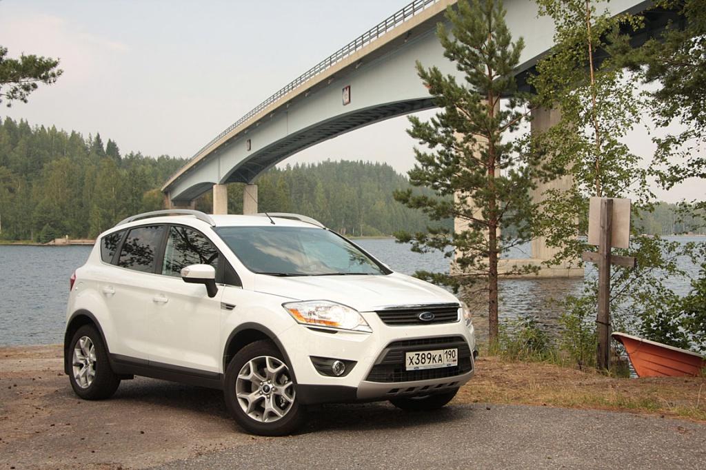 Ford Kuga: экономия и комфорт
