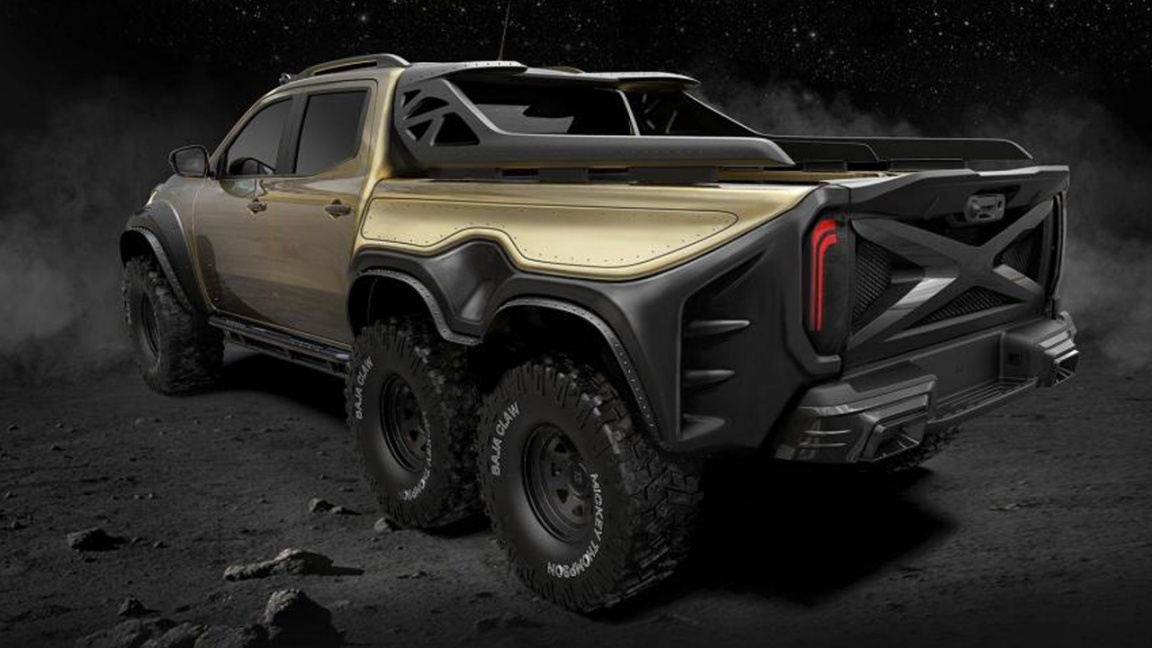 Mercedes-Benz X-класс Exy 6x6 by Carlex Disign