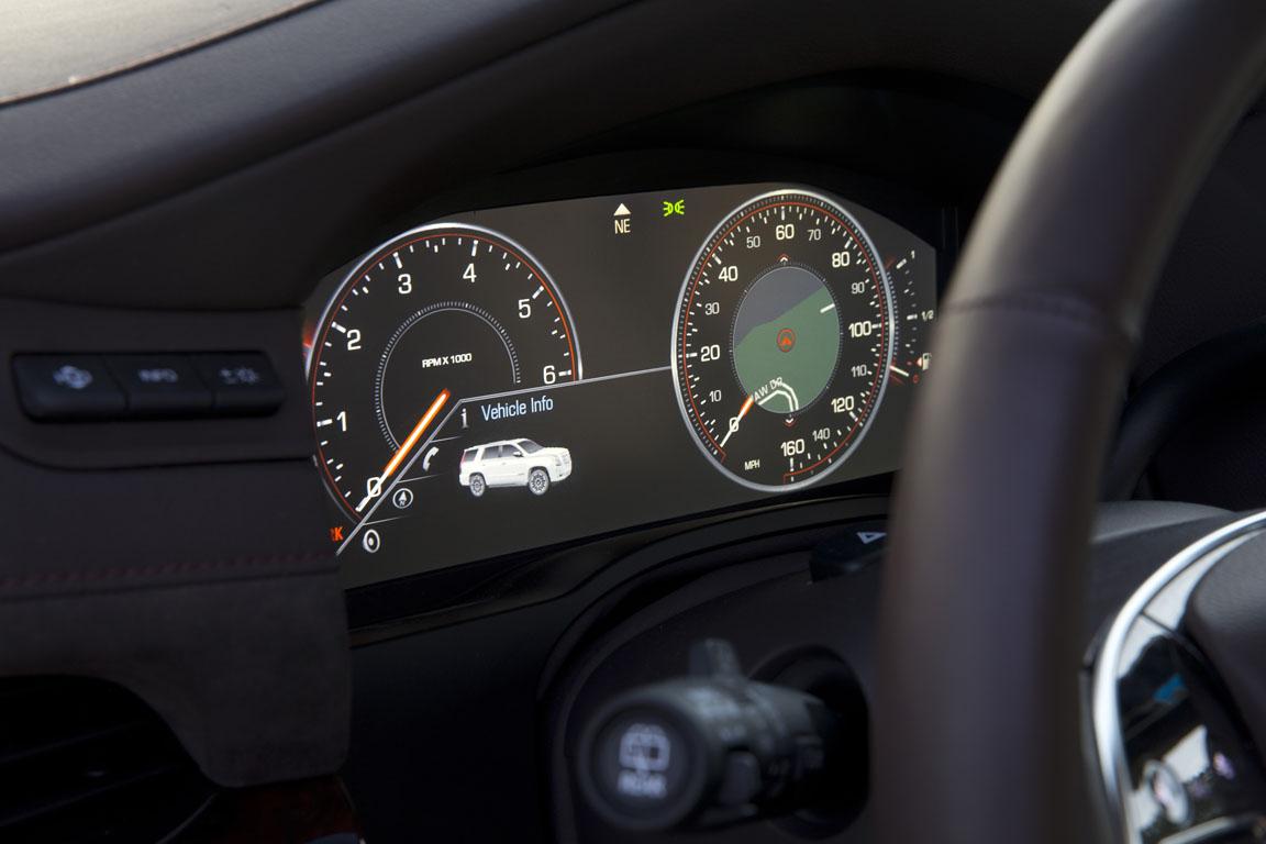 Cadillac Escalade ESV панель приборов
