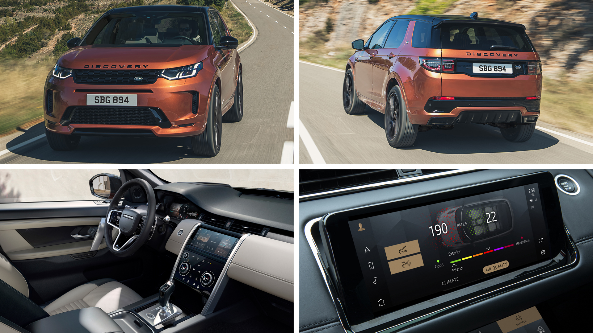 land rover discovery sport black edition 2021