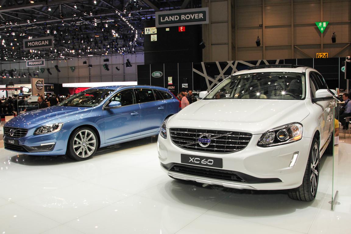 Обновленные Volvo XC60 и Volvo V60