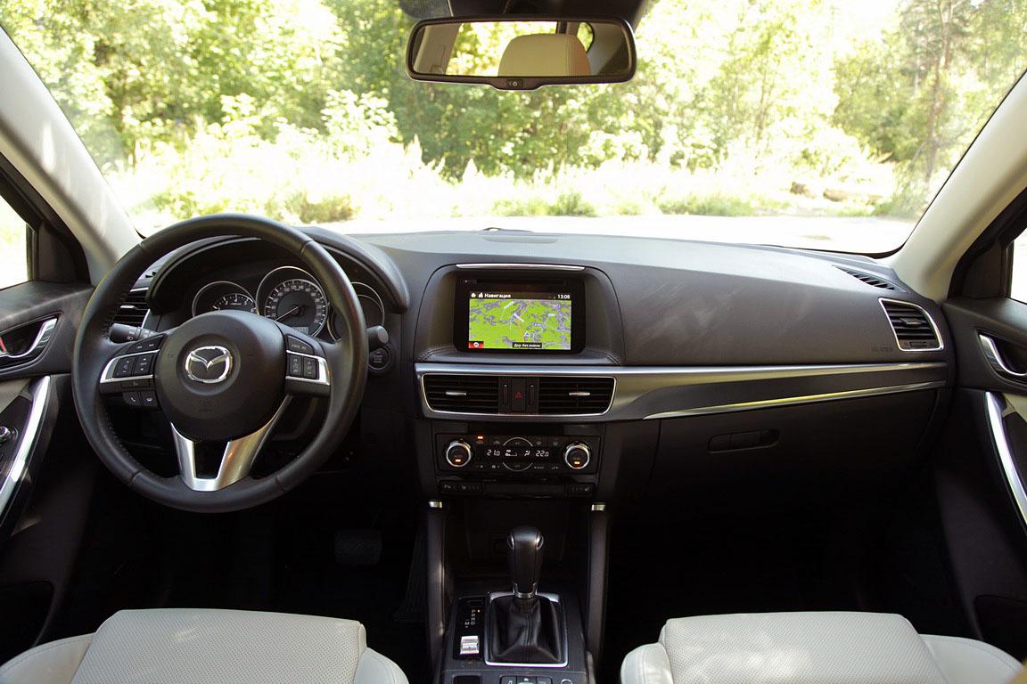 Mazda CX-5: Большая морская прогулка