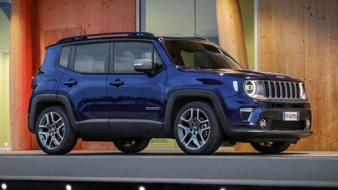 Обновленный Jeep Renegade