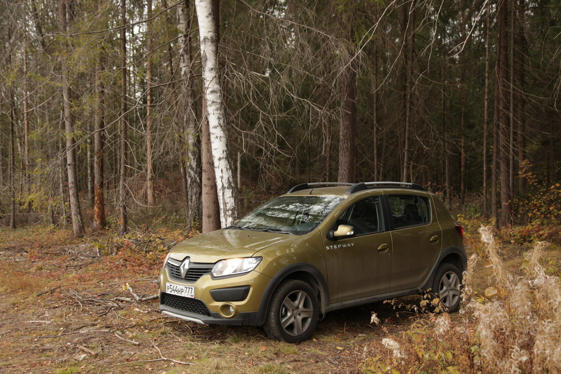 Renault Sandero Stepway: Приручаем робота