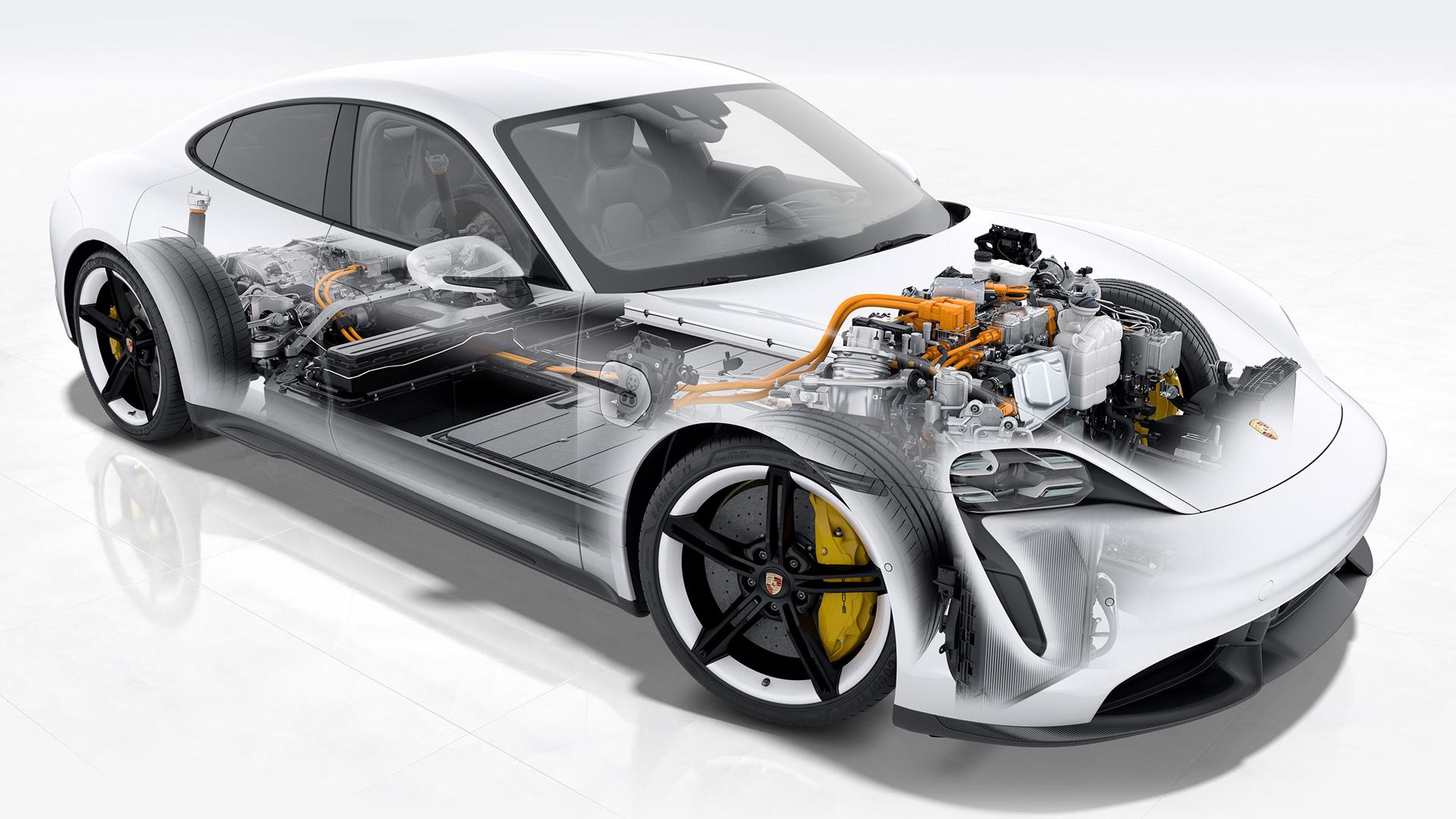 Porsche Taycan - цена, характеристики и фото, описание модели авто