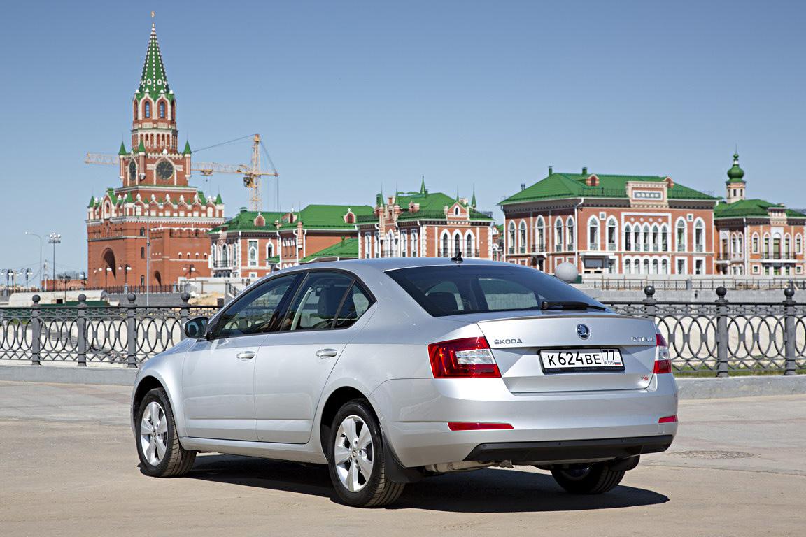 Skoda Octavia: галопом по России