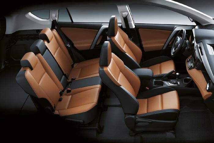 обновленный Toyota RAV4