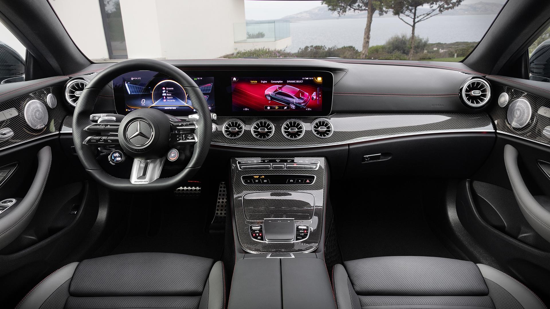Mercedes-AMG e53 coupe interior