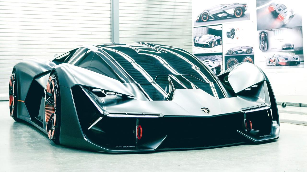 Концепт Lamborghini Terzo Millennio