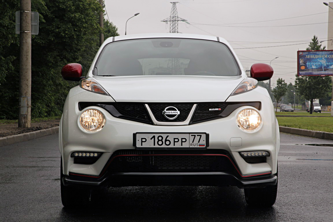Nissan Juke Nismo: Настоящий боец