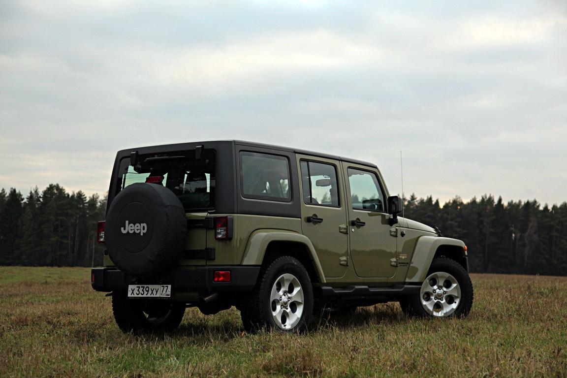 Jeep Wrangler Sahara: Вершина эволюции