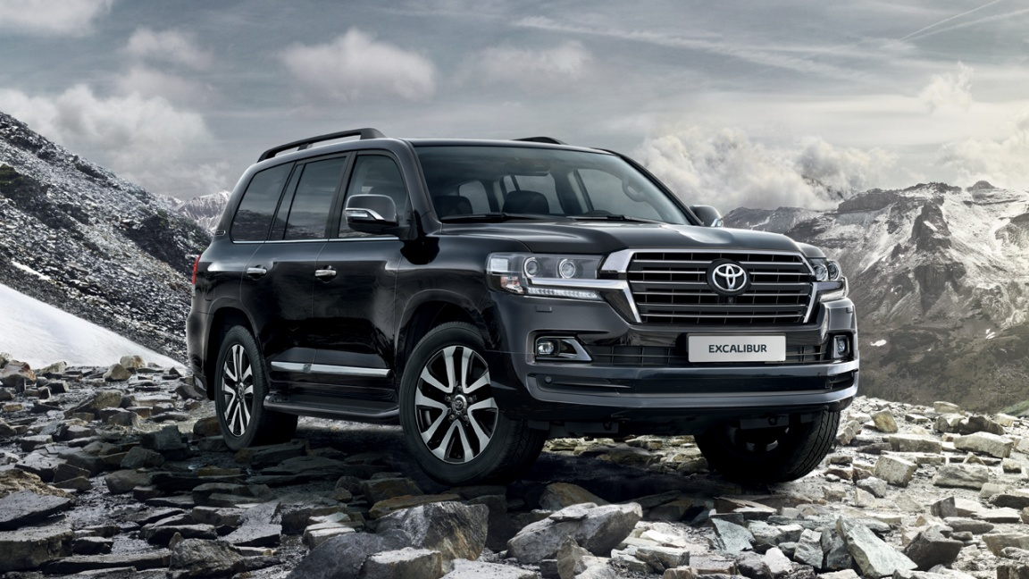 Toyota Land Cruiser 200 Excalibur 2017