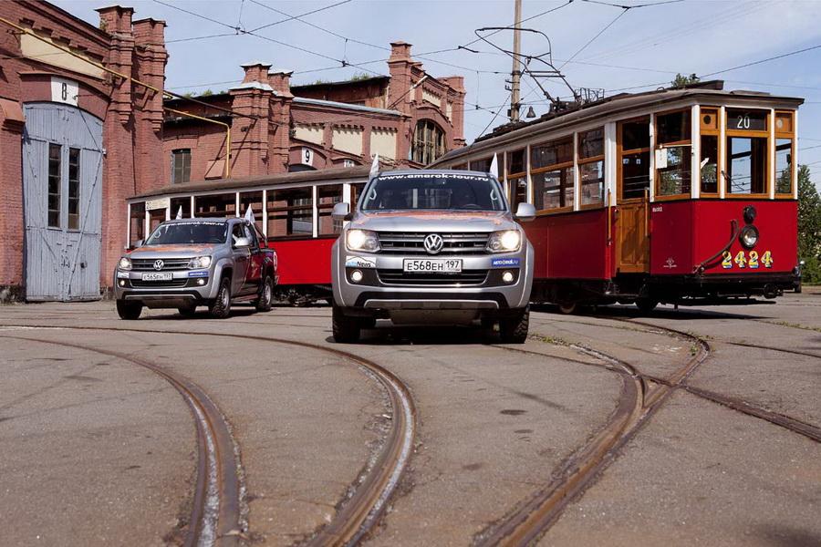 Трамвайный парк