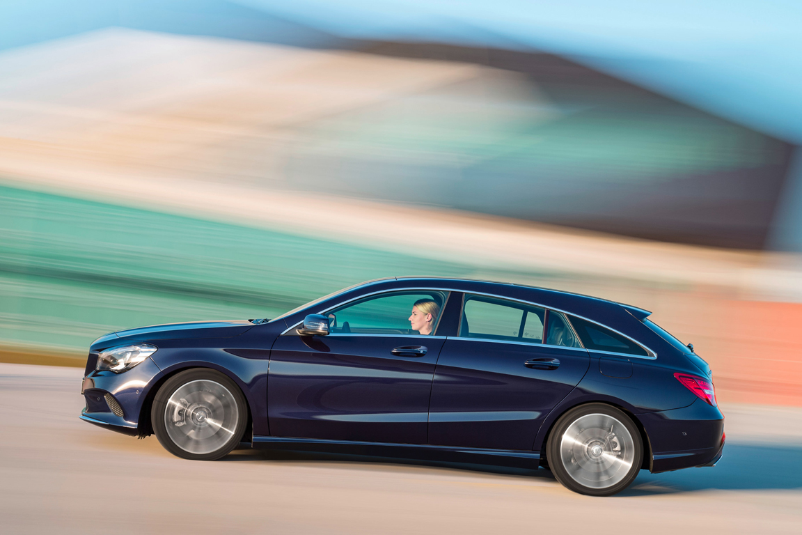 Mercedes-Benz CLA Shooting Brake 2016