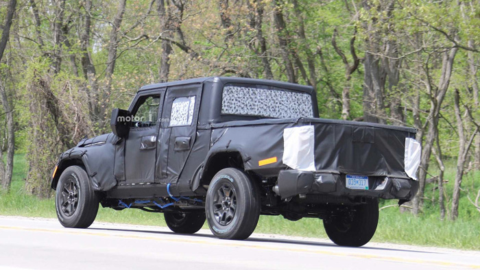 Jeep Wrangler Pikup