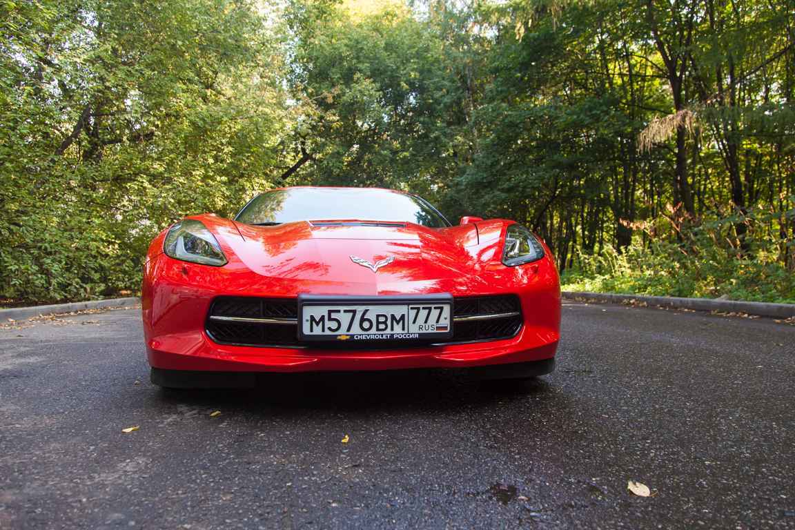 Chevrolet Corvette Stingray: Красный дьявол
