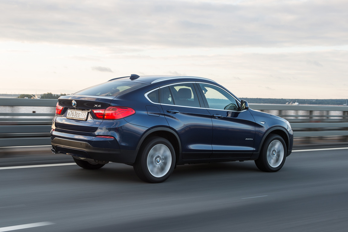 BMW X4: Автомобиль, полный сюрпризов