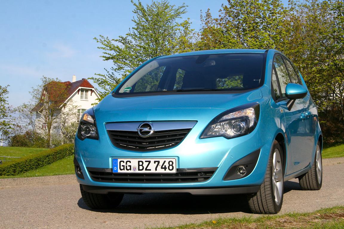 Opel Meriva – открытое окно в лето