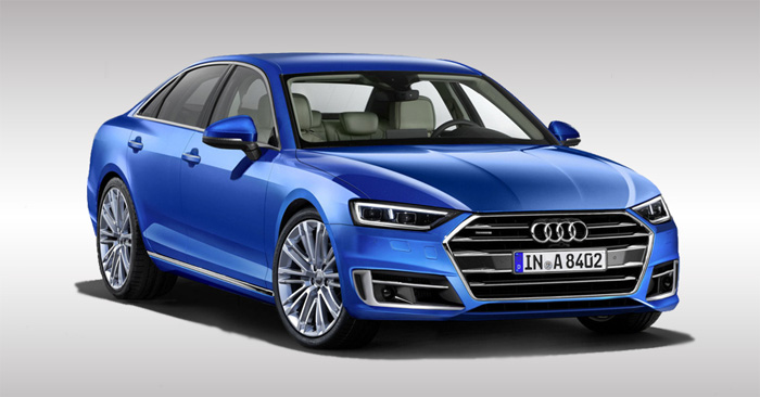 Audi A8 2017 Render