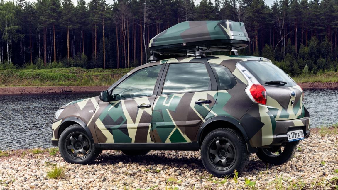 Datsun представил хэтчбек mi-DO для охотников и рыболовов