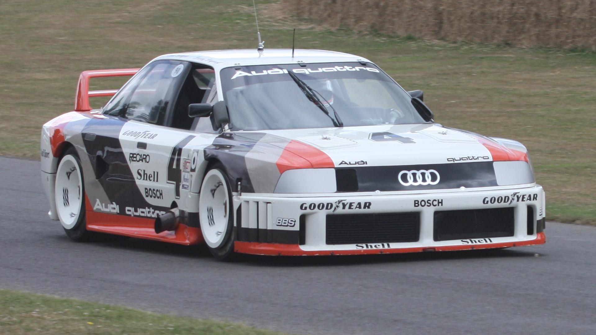 Audi 90 quattro US IMSA GTO Hans-Joachim Stuck