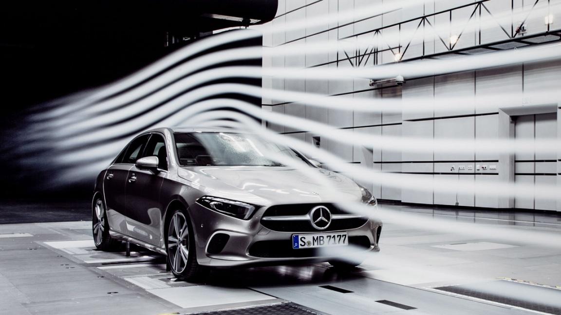Новый седан Mercedes-Benz A-класса