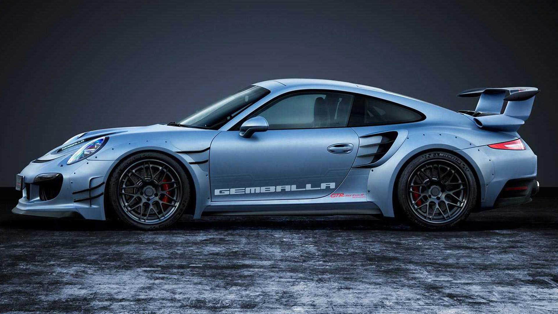 Porsche 911 Turbo by Gemballa GTR-8XX EVO-R