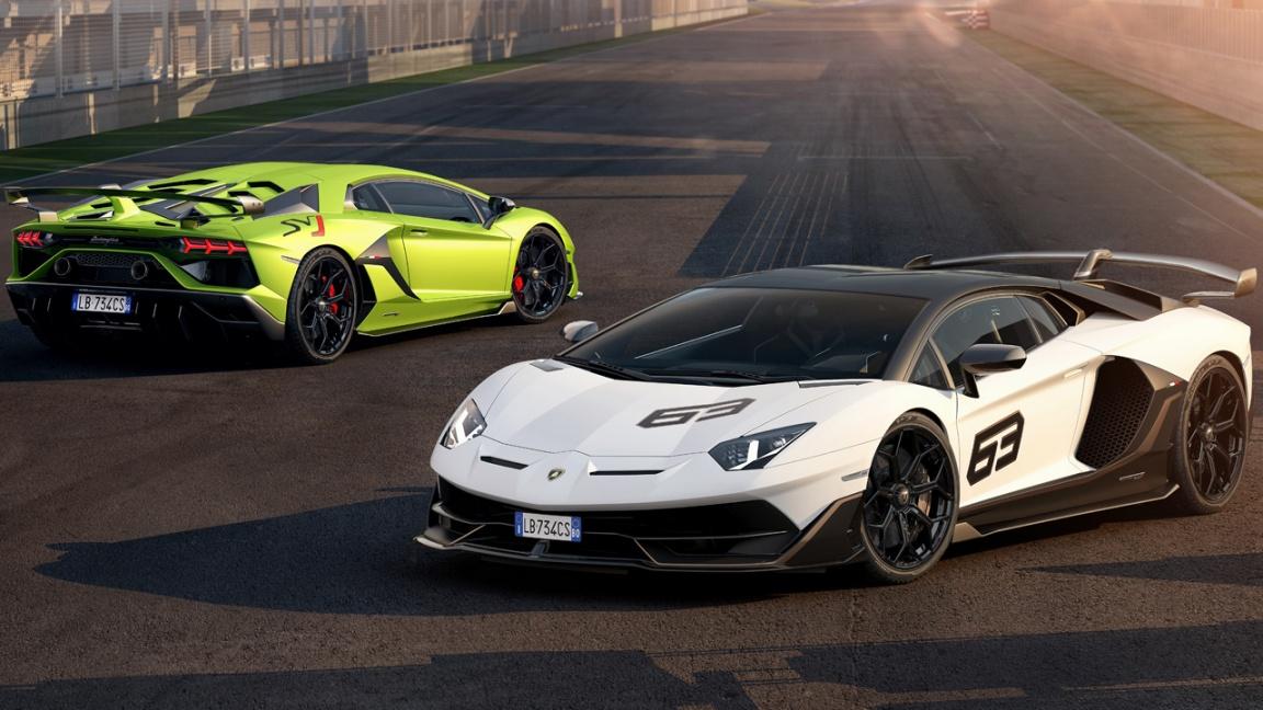 Lamborghini SVJ и SVJ 63