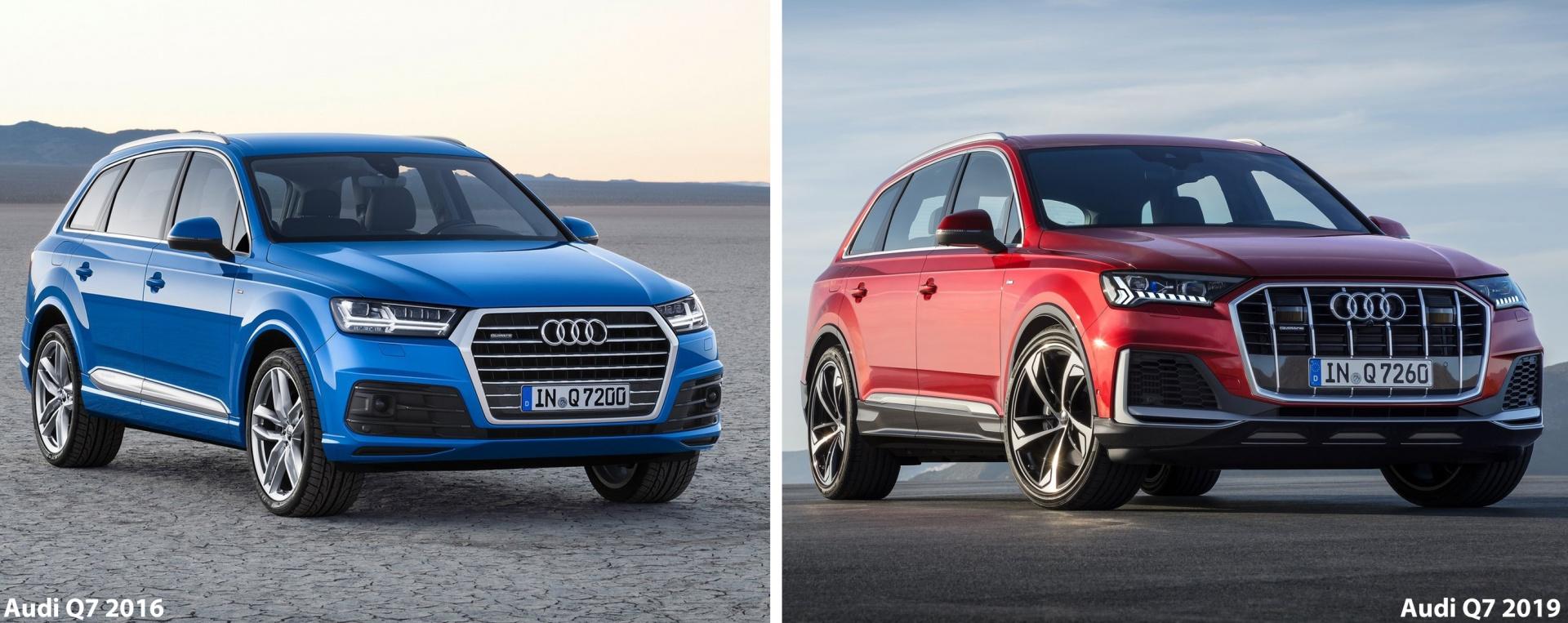 Обновлённый Audi Q7 2019