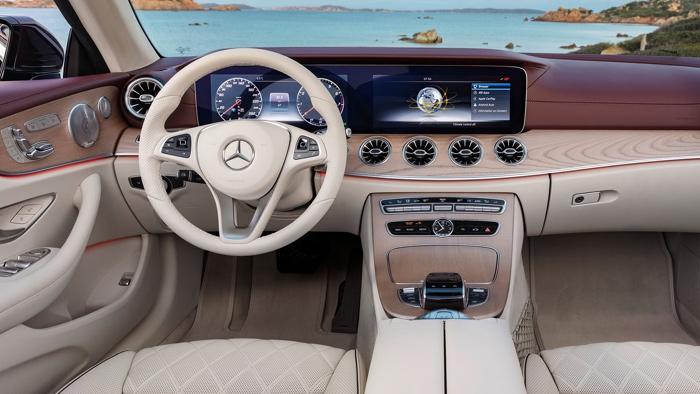 кабриолет Mercedes-Benz E-Class
