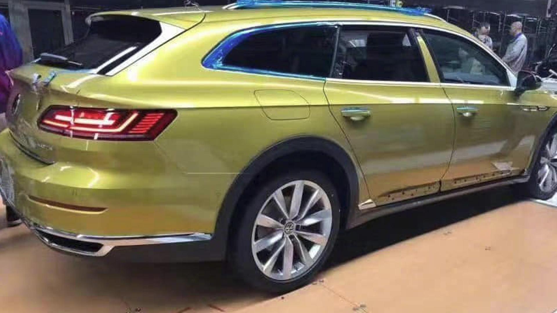 Volkswagen Arteon Variant Alltrack 2020