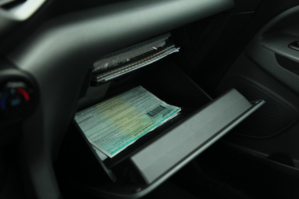 Ford EcoSport Перчаточный ящик