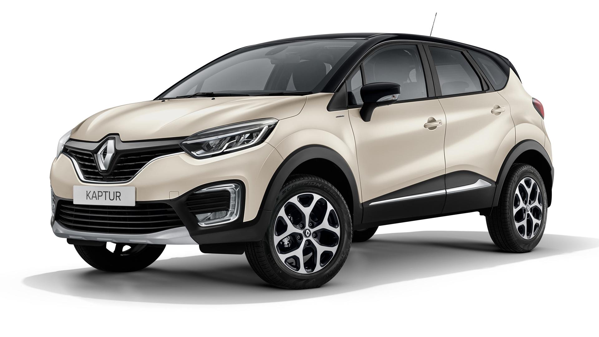 """Renault Kaptur окрас """"слоновая кость"""""""