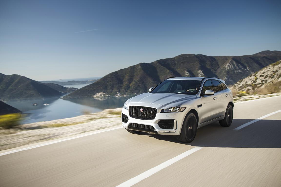 Jaguar F-Pace: Новая эпоха британского бренда